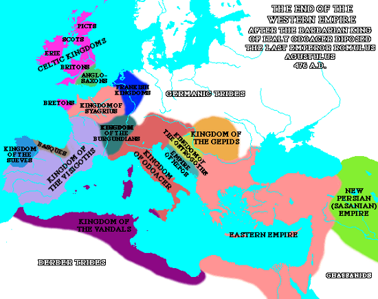 carte europe v siecle